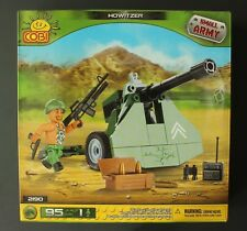 Cobi Small Army Howitzer Building Brick Set 2190 Includes One Mini Figure