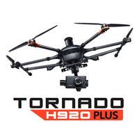 Yuneec Tornado H920+ Plus Drone w/ CG04 Camera, ProAction, ST16, Case OPEN BOX