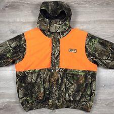 Scentblocker Frontier Plus Men's Reversible Jacket Size 2XL - Realtree Camo