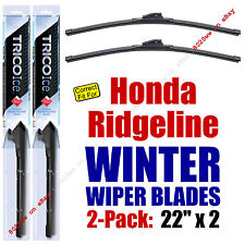 WINTER Wipers 2-Pack Premium Grade - fit 2009-2014 Honda Ridgeline - 35220x2