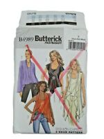 Butterick 4989 Misses Top Camisole Sewing Pattern Size xsm-med UNCUT OOP