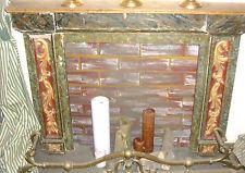 Kaminmaske Ofen Kamin Kamineinfassung  chimney face Historismus Holzkamin