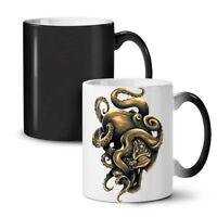 Octopus Tiger Face Animal NEW Colour Changing Tea Coffee Mug 11 oz | Wellcoda