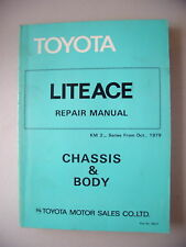 Toyota Liteace Repair Manual Chassis Body KM 2 Oct.1979