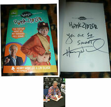 HENRY WINKLER SIGNED THE CURTAIN WENT UP MY TROUSERS FELL DOWN BOOK HAPPY DAYS