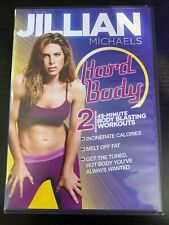 Jillian Michaels Hard Body 2 - 45 Minute Body Blasting Workouts Dvd