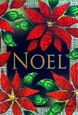 """""""Noel"""" Christmas  2 sided Garden Size Flag"""