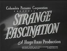 STRANGE FASCINATION  1952 (DVD) CLEO MOORE, HUGO HAAS
