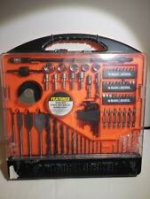 Black & Decker Drilling Bits and Screwdriving Set with Case 150 Pieces