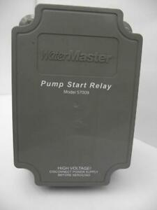 ORBIT WATER MASTER..Pump Start Relay..Model # 57009,New Old Stock with all parts