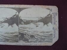Stereoview Popular Series Niagara Falls Maid Of The Mist Water & Boat (O) AS IS