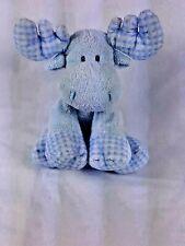 Ty Pluffies Blue Moose Plush 2006 Twacks