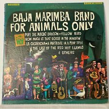 Baja Marimba Band for Animals Only - A&M SP4113