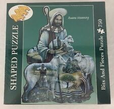 Good Shepherd Shaped Jigsaw Puzzle Bits and Pieces 185281 750 pcs Ruane Manning