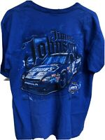 NASCAR Sz Large JIMMIE JOHNSON 2012 7 x Champion T-Shirt Tee Chase Authentics