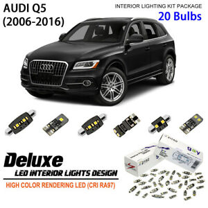 Deluxe LED Interior Dome Light Kit Bulbs For 2009-2016 Audi Q5 (with SunRoof)