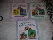 lot de 3 livres enfant pas bébé -la collection Martine - 6 histoires