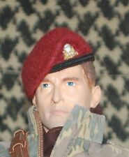 1/6 WW2 British 1st Canadian Airborne Regiment Airborne beret & metal badge