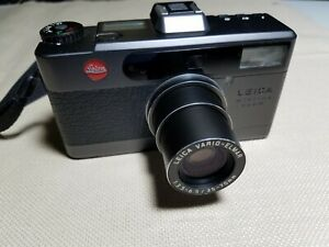 Vintage Leica Minilux Zoom 35-70mm Film Camera BLACK