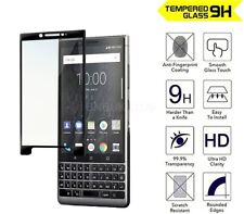 For BlackBerry KEY2 Tempered Glass Screen Protector Full Coverage