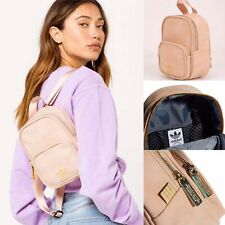 🌸Adidas Originals Faux Suede Mini Backpack🌸Light Pink CL5491