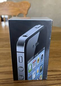 """""""Brand New Factory Sealed"""" Apple iPhone 4-8GB,Black """"Rare Collectible"""""""