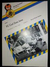 Lok/Lokomotive Leipzig - Carl Zeiss Jena 1983/84 DDR Oberliga Programm