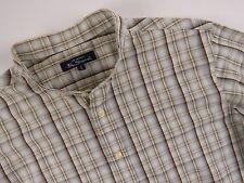 R411 BEN SHERMAN camicia maglietta a serafino ORIGINALE Premium a quadretti