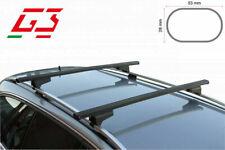 BARRE PORTATUTTO PORTAPACCHI G3 BMW X3 E83-F25-G01-F97 DAL 2004> CON RAILING