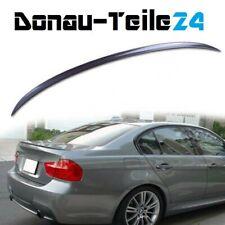 BMW E90 Heckspoiler Spoiler Lippe Limousine Heckflügel schwarz Spoilerlippe