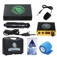 Dragonhawk - Kit de máquina de tatuaje  de  rotatorio tatuaje agujas de cartucho