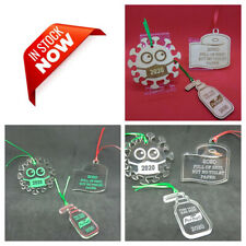 2020 Funny Covid2020 Christmas Ornaments -- 3 Variations of 3 Designs