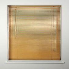 Easy Fit PVC Venetian Window Blind Blinds Black Cream Teak White Slate Long Drop