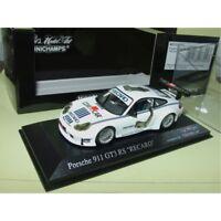 PORSCHE 911 GT3 RS 996 RECARO MINICHAMPS 1:43
