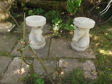 HORSE head stool / plinth , A pair of  unusual plinths/stools equine ornament