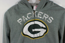 Green Bay Packers Full Zipper Hoodie NFL Youth Size XL