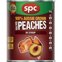 Spc Halved Peaches 3Kg Quick Post-Aussie owned & operated