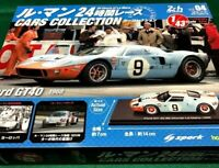 Le Mans Cars Collection 24 Hour Race Ford GT 40 1968 Hachette Magazine Model Car