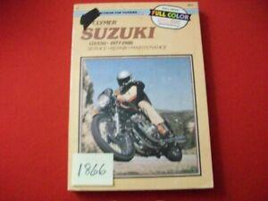 VINTAGE 1977-86 SUZUKI GS550 SERVICE-REPAIR-PERFORMANCE MANUAL CLYMER # M373