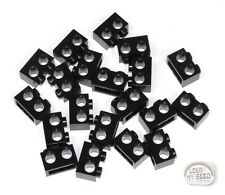LEGO Technic - 20 x Tech Bricks w/ 2 Holes - 1x2 - New - Black - (NXT, EV3)