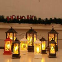 Christmas Tree Hanging Lamp Santa Claus Deer Snowman Light Home Decor - Bs