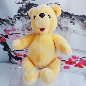 Disney Winnie The Pooh Plush Vintage Jointed Soft Toy Bear Disneyland