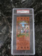 1998 Super Bowl XXXII (32) Full Ticket - PSA MINT 9 Broncos/Packers Copper w/Prg