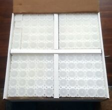 One Brand New Box of 100 Coinsafe Stackable Durable Hard Plastic Penny Tubes!!