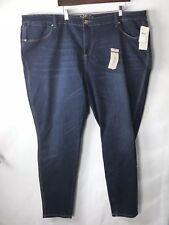 00c706b9548 NEW Melissa McCarthy Seven7 Jeans 26 Jegging Dark Wash Classic Women Plus  Sz  98