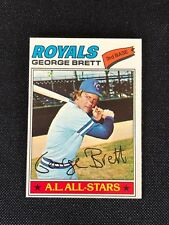 1977 Topps George Brett NM #580 Kansas City Royals *50