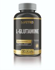 PURE L-GLUTAMINE 500MG - MUSCLE RECOVERY - X120 TABLETS BY MATRIX NUTRITION
