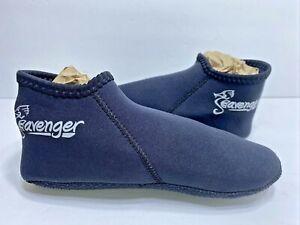 Seavenger Zephyr 3mm Neoprene Dive Socks, Small Black FAST SHIPPING  Brand New
