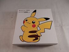 Nintendo DS Lite Pokemon Center Pikachu Yellow System (NEW IN BOX, RARE) #S054