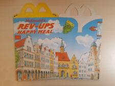 Rev-Ups - 1993 - McDonald's Unused Happy Meal Box #B2589